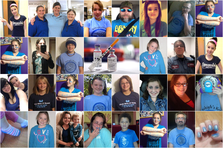 Thanks for dressing in blue to celebrate WDD with us!