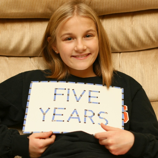Celebrating 5 years (and 24,000 test strips) of living with type 1 diabetes.
