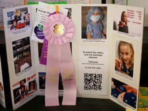 2013 County 4H Fair Project on Type 1 Diabetes